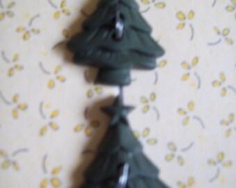 Christmas Bargin-Christmas Tree Buttons