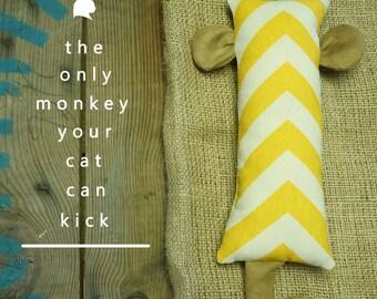 Monkey Cat Kicker-With Organic Catnip