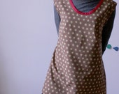 Basics Retro School Dress floral print size Large