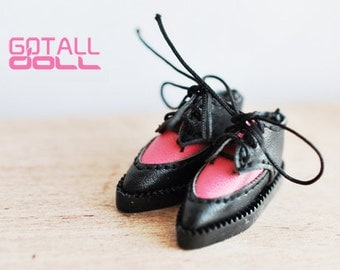 20% OFF - GOTALL doll handmade HARAJUKU style Shoes for Blythe doll - doll shoes - Pink