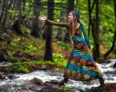 Forest Priestess Elven Dress