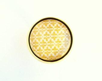 Gold Nursery Knob Unique Decorative Drawer Dresser Cabinet Glass Pull Kitchen Bedroom Bathroom