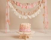 "Cake  Smash Prop Cake Stand Photography Prop 12"" diameter"