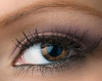 "Matte Purple Eyeshadow - ""Fig"" - Brownish Purple Vegan Mineral Eyeshadow Net Wt 2g Large Natural Mineral Makeup Eye Color Pigment"