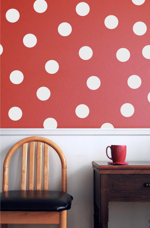 vinyl wall sticker polka dot pattern disney minnie mouse. Black Bedroom Furniture Sets. Home Design Ideas