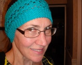 Headband - Many Colors - Pretty Lace Details - Order Now - Handknit
