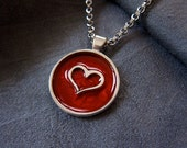 Heart Necklace - Heart Ch...