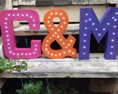 "Marquee Letter - 12"", Battery Operated, LED"