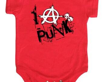 I Anarchy Punk Onesie