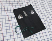 Anti-Tarnish Silver Cloth - Flatware Pouch