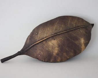 Leaf pillow - made to order