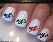 2015 Graduation Nail Decal Graduation Nail Design NAILTHINS