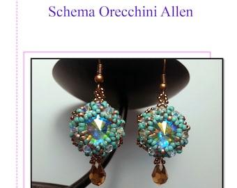 Schema Orecchini Allen Italiano