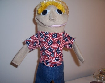 Boy puppet for 15 dollars