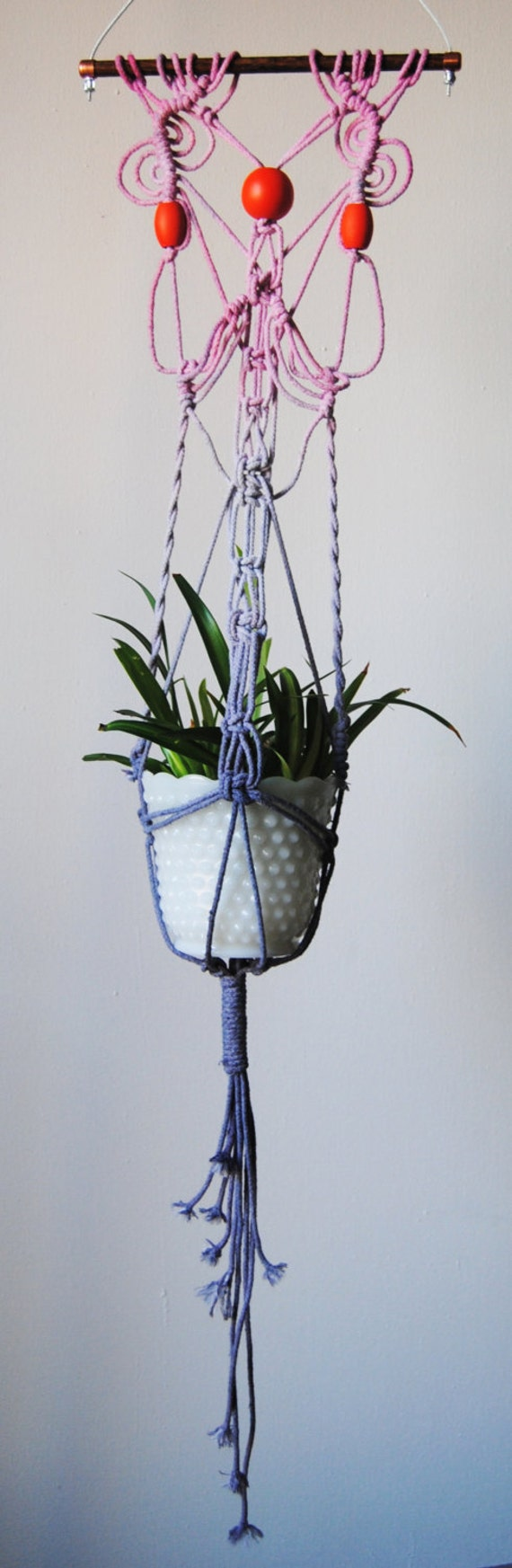 etsy macrame plant hangers macrame plant hanger by slowdownproductions on etsy 7569