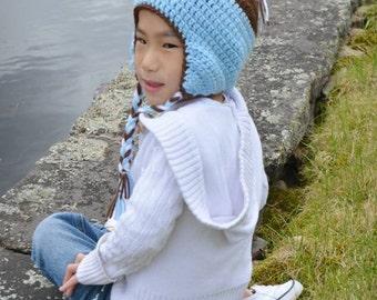 Owl Beanie, Owl Costume, Baby Shower Gift, Photo Prop, Crochet Photo Prop