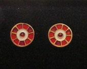 Fibula Earrings - Hunnish - 4th-5th century AD - Post Earrings