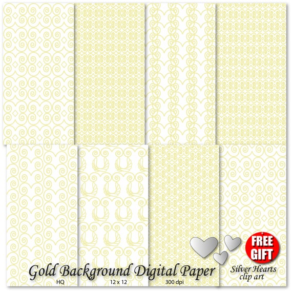 Gold wedding digital paper printable wedding invitation background wedding gold decor gold bachelorette party wedding guest book gold print