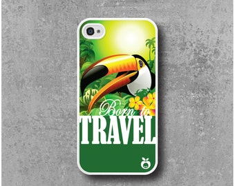 IPhone 4 / 4s Case Bird Toucan Travel