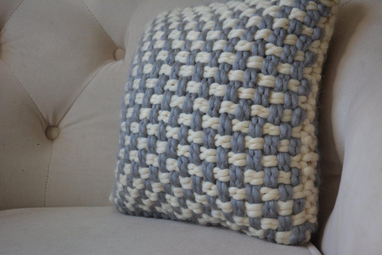 Decorative Pillow Texture : Textured Pillow / Weaved Decorative Pillow