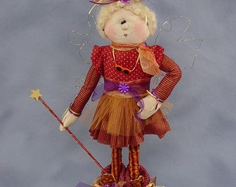 "Pattern: Eloise - 22"" Fairy"