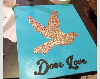 Dove Love Canvas