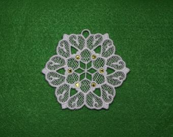 FSL - Christmas Ornament - Snowflake - EL_A6271
