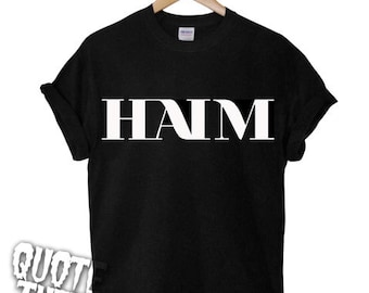 Popular Items For Haim T Shirt On Etsy