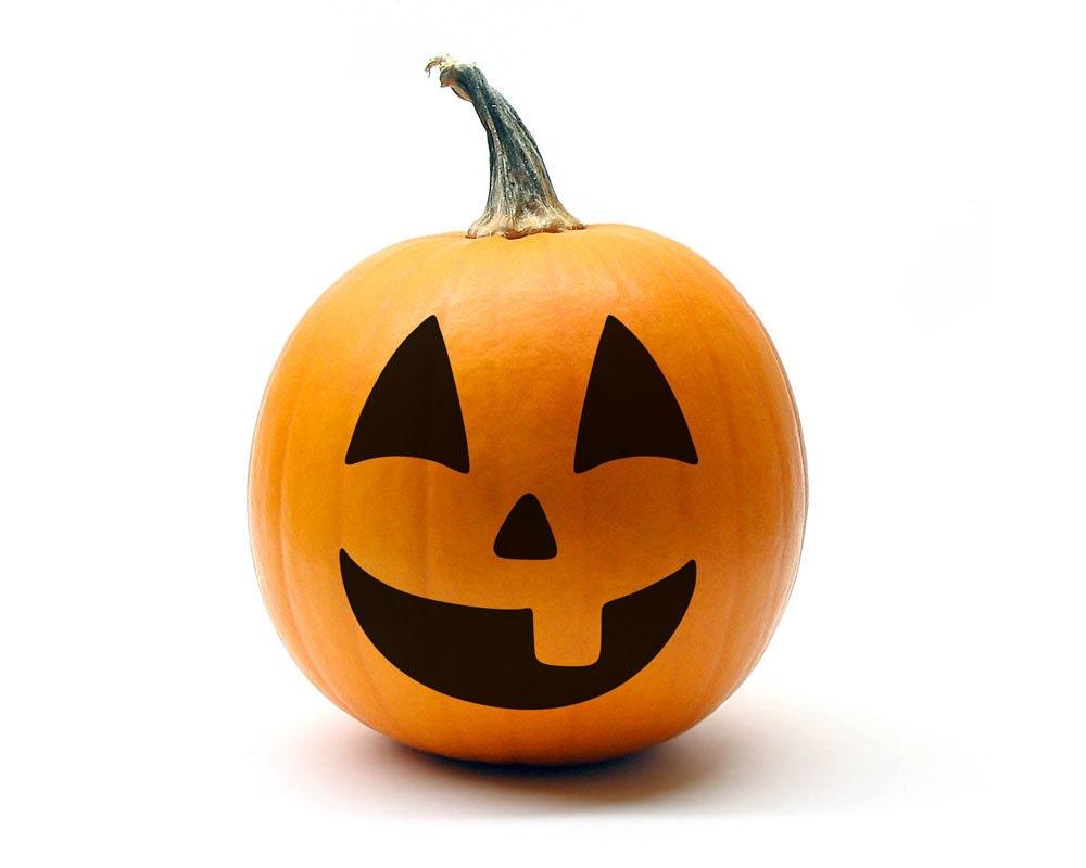 Jack O Lantern Face 3 size MEDIUM Halloween by ...