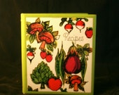 LIKE NEW Vintage Blank Recipe Binder - free US shipping!