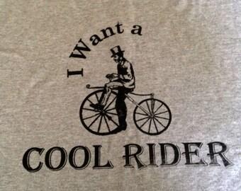 Cool Rider adult t-shirt