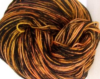 Autumn Handpainted Superwash Merino Wool Yarn 450 yards knitting crochet