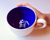 R2D2 Star Wars Inspired Handcrafted Mug, Coffee Mug, Soup Mug