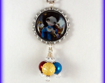 "Jasmine Becket-Griffith "" Queen of Bees ""  necklace"