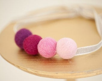 Felted Candy Necklace