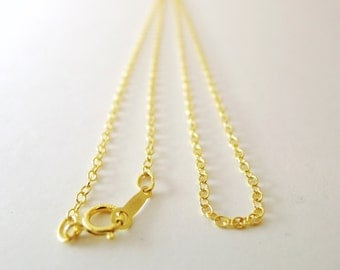 4pcs of 16 inches/41cm 14k GOLD Filled chain
