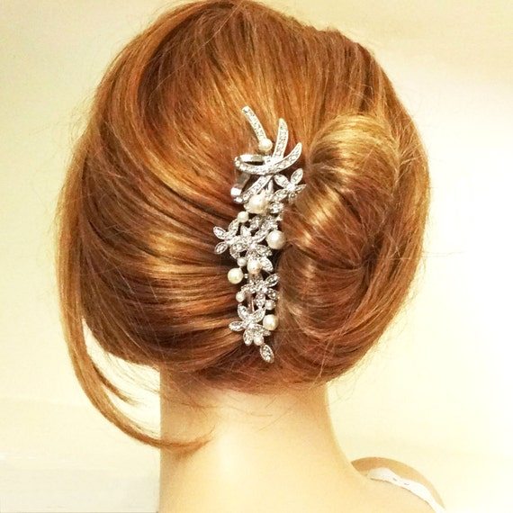 items similar to victorian style bridal hair accessories