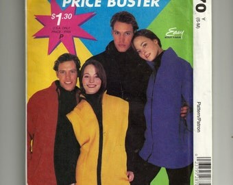 McCall's Misses' and Men's or Teen Boys Jacket or Vest Pattern 2870