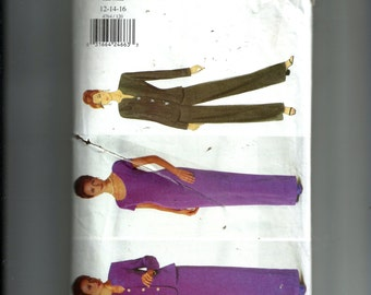 Butterick Misses' Jacket , Dress, and Pants Pattern 4764