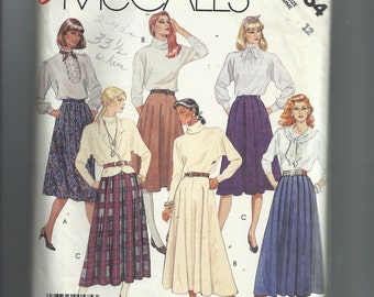 McCall's Misses' Skirts Pattern 3254