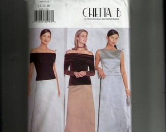 Butterick Misses' Top and Skirt Pattern 6396