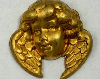28mm Winged Cherub Face #1566