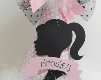 Personalized Im a Barbie Girl Birthday Party Hat