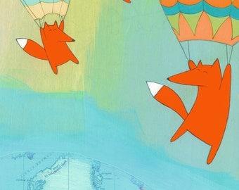 Hello Greenland! - Signed Art Print