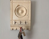 Summer Sale: Architectural Salvage Upcycled Shabby Chic Key Holder