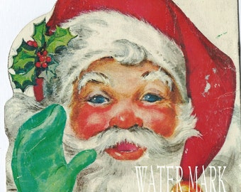 Instant Digital download.Santa Claus. Vintage  IMAGE.Great one.tags,price tags,Cards, decoupage, collage,sewing and so much more