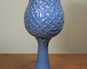 Light Blue Celtic Knotwork Goblet