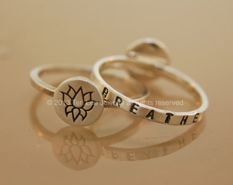 Sweet Mantra Breathe Ring