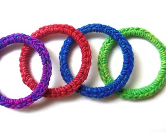 Cat Toy Ferret Toy Recycled Ring Toys