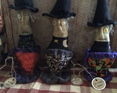 CustomerAppreciation Sale Primitive Halloween Witches Brew or Harvest Blend ready to ship